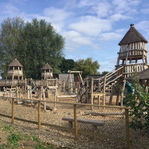Main View Knockhatch Fort Chestnut Wood Adventure Play Area