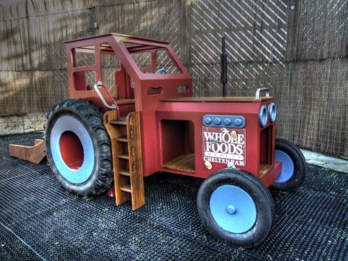 Whole Foods Cheltenham Wooden Play Tractor