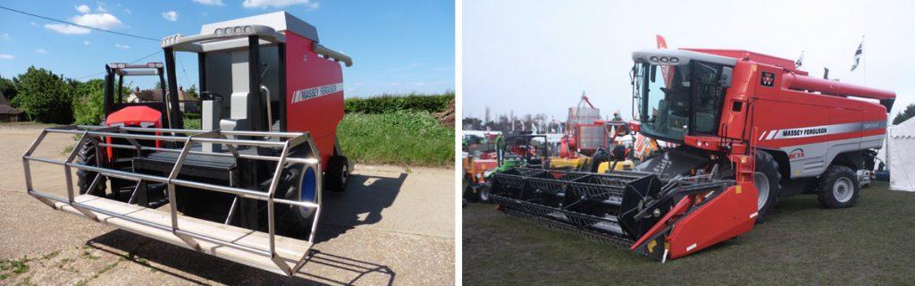 Massey Ferguson Replica Combine Harvester