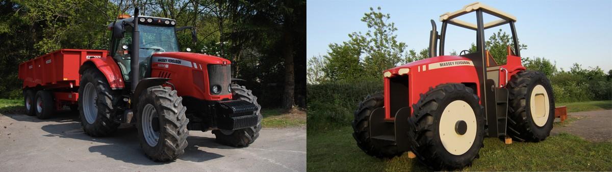 Massey Ferguson Replica Play Tractor