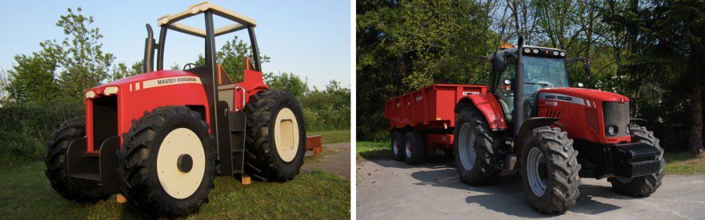 Massey Ferguson Replica Tractor