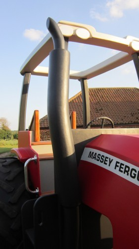Massey Ferguson Replica Wooden Play Tractor In Norway 02