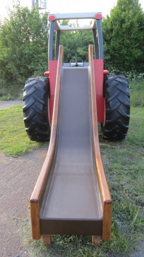 Massey Ferguson Replica Wooden Play Tractor in Norway 10