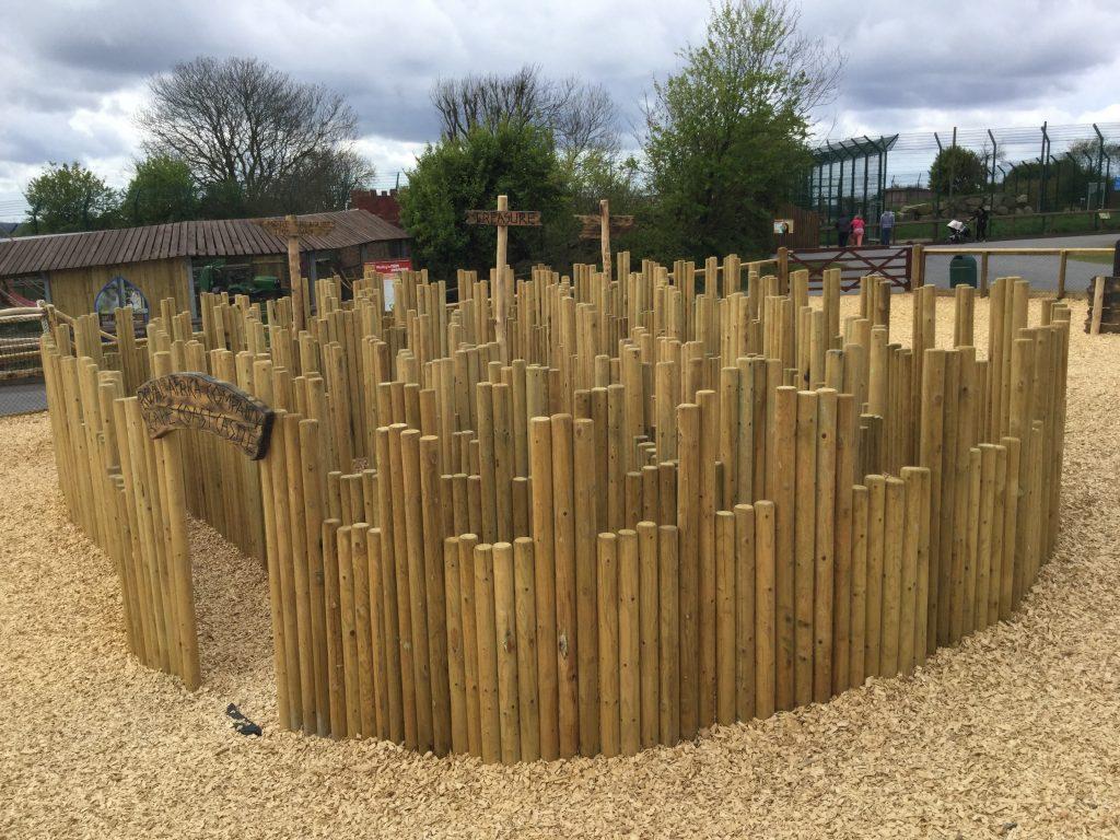 Maze Folly Farm Pirate Play Area Playground