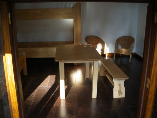 Miniature Furniture Magdalenka Childrens Playhouse Wendy House In Poland Custom Built Replica Miniature