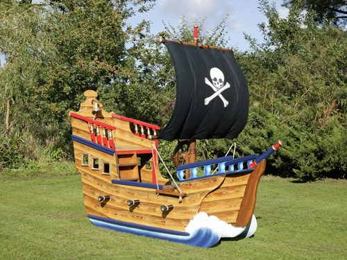 Miniature Play Pirate Ship