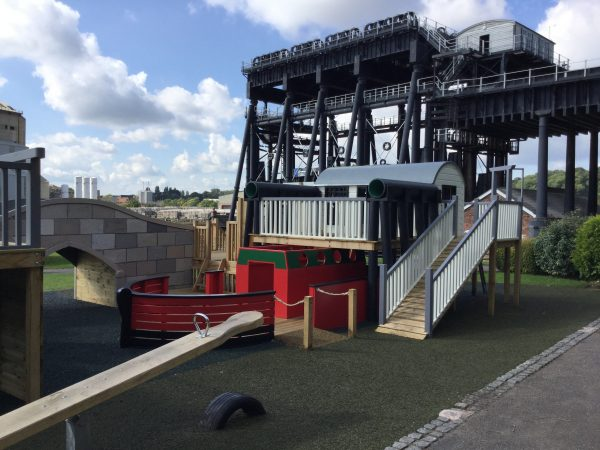 Miniature Replica Anderton Boatlift Adventure Playground