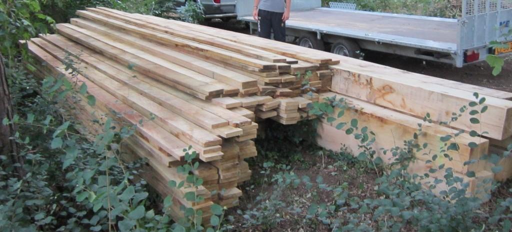 Moseley Oak Pile