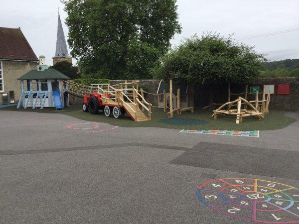Moss Lane School Godalming Themed Adventure Playground 08