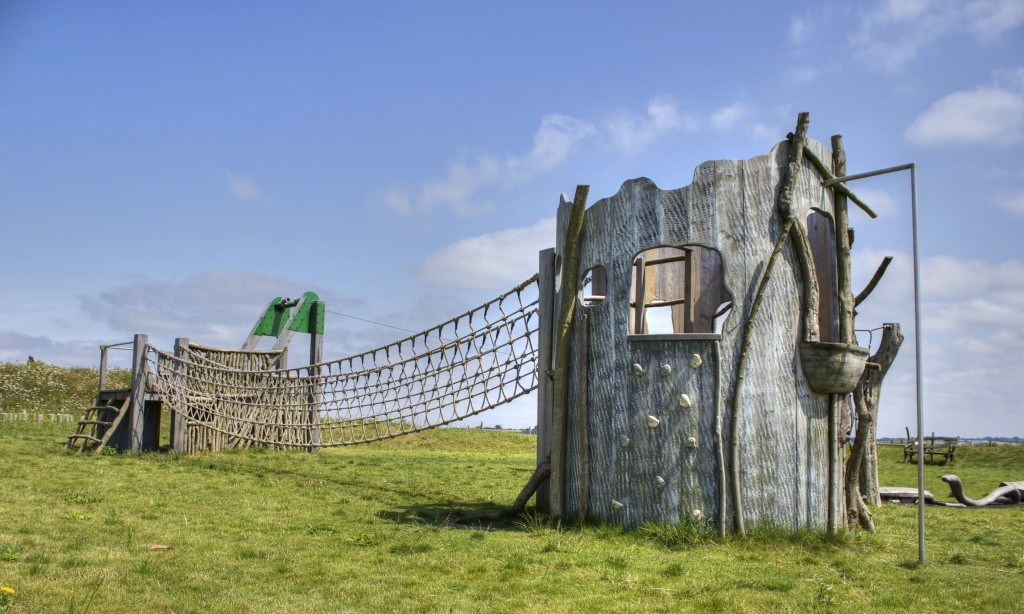 Multi Play Tower Abberton Reservoir Childrens Outdoor Play Area By Flights Of Fantasy