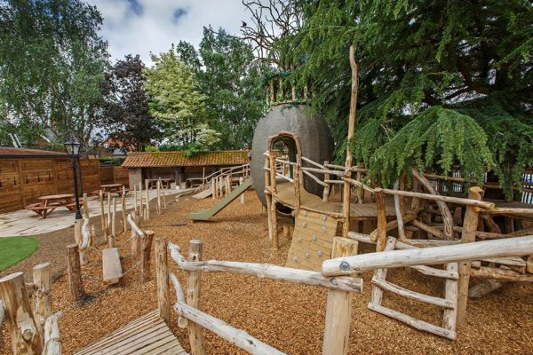 Natural Playground at Ffolkes Arms Hotel Hillington Norfolk