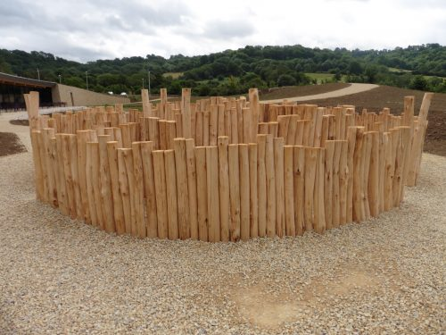 Natural Timbers Westmorland Gloucester Services M5 Outdoor Play Area Maze Labyrinth