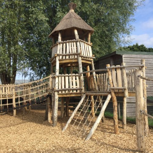 Net Tower Knockhatch Fort Chestnut Wood Adventure Play Area E1516348753169