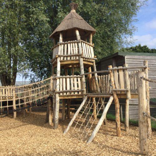 Net Tower Knockhatch Fort Chestnut Wood Adventure Play Area E1516348753169