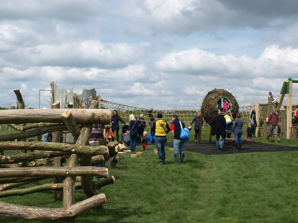 Opening Day Abberton Reservoir Childrens Outdoor Play Area By Flights Of Fantasy