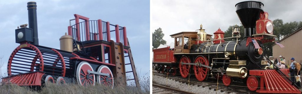 Pacific Locomotive Replica Play Train