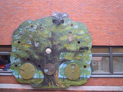 Painted Tree Games Gloucestershire Royal Hospital Rooftop Play Area