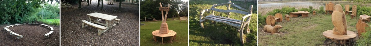 Picnic Areas And Custom Seating By Flights Of Fantasy