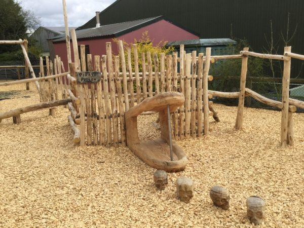 Pirate Prison Folly Farm Pirate Play Area Playground