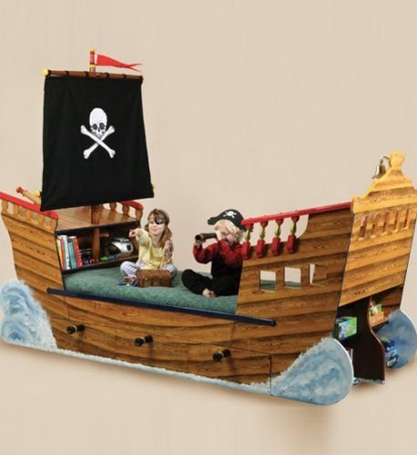 Pirate Ship Bed Featured Image 1