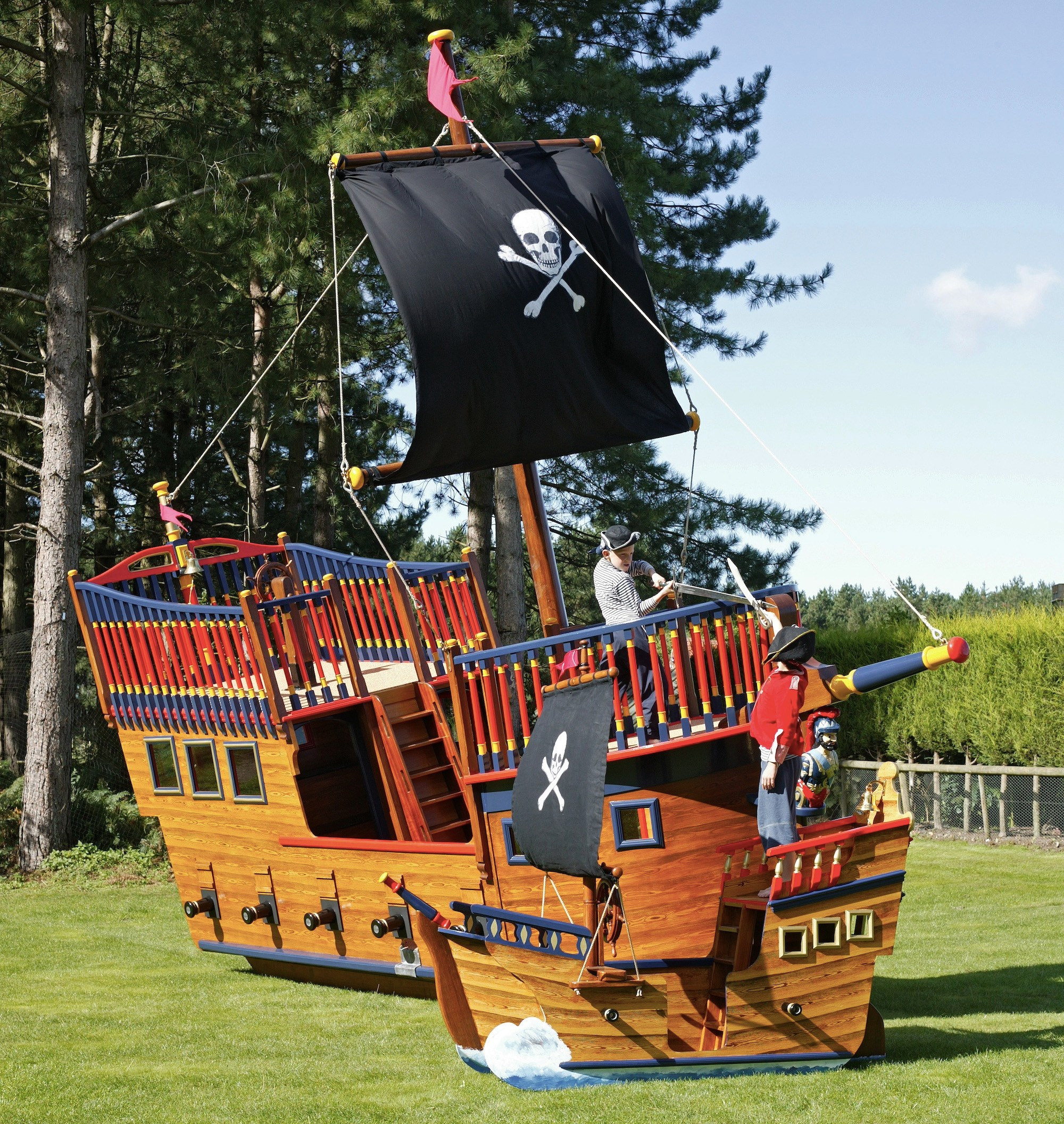 play pirate ships and pirate play areas flights of fantasy
