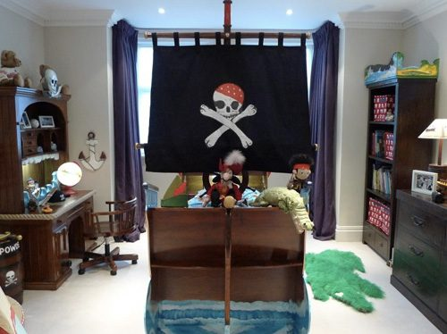 Pirate Themed Bedroom 1