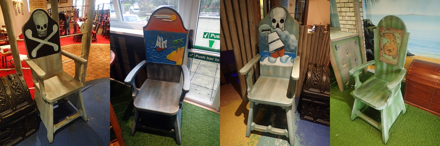 Pirate Themed Seats At Smugglers By Flights Of Fantasy