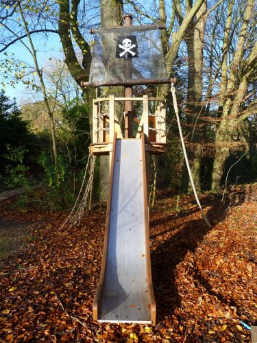 Pirate Slide Winchester Tower Private Play Area Playground By Flights Of Fantasy