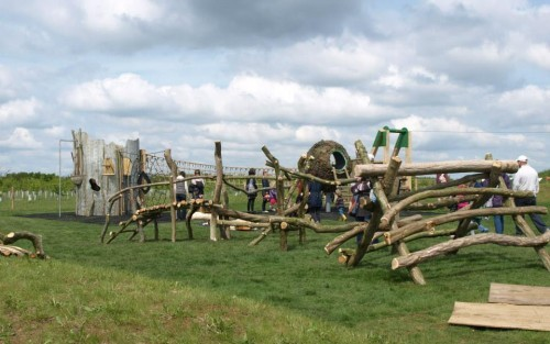 Play Area Side View Abberton Reservoir Childrens Outdoor Play Area By Flights Of Fantasy E1481994249242