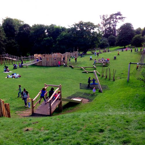 Playground Overview Farnham Park Outdoor Play Area By Flights Of Fantasy