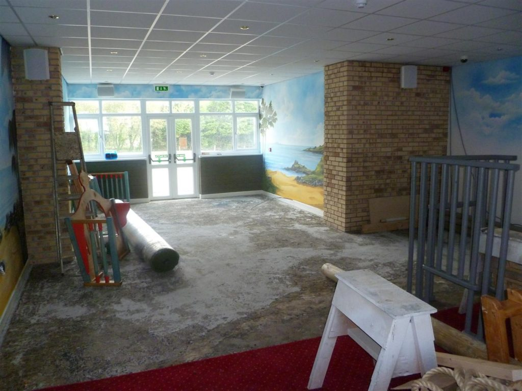 Pre Construction Amroth Smugglers Bar and Grill Pirate Themed Indoor Play Area