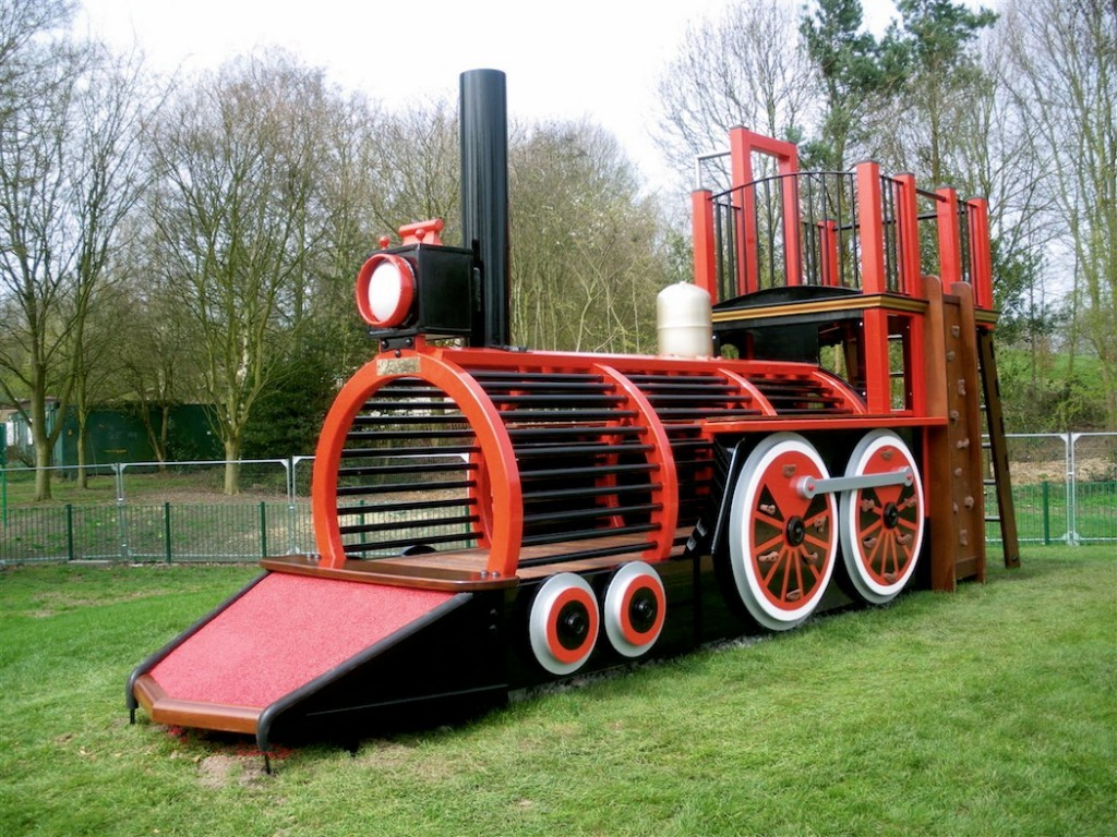 Pre Safety Matting Runcorn Play Train Centrepiece Outdoor Play Area
