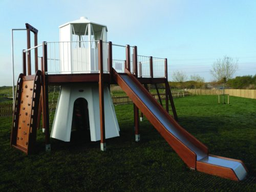 Rspb Newport Lighthoue Themed Outdoor Play Area