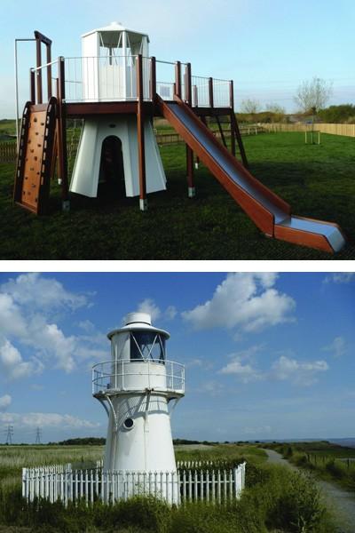 Rspb Newport Replica Play Area And Original
