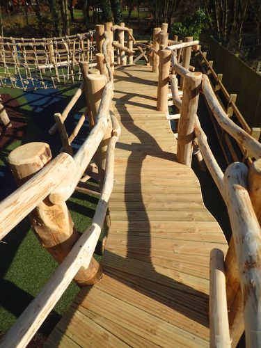 Raised Boardwalk The Duke Of Cambridge Adventure Play Area