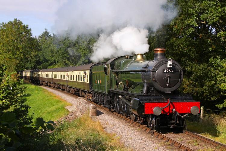 Real Gwr Steam Train