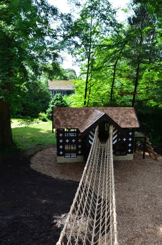 Real Hall And Replica Samlesbury Hall Childrens Outdoor Play Area With Replica Landmark And The Mayflower Play Ship By Flights Of Fantasy E1482000689268