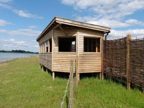 Right Side Hide Bay Bird Hide With Sedum Roof At Abberton Reservoir For Essex Wildlife Trust 1024x768