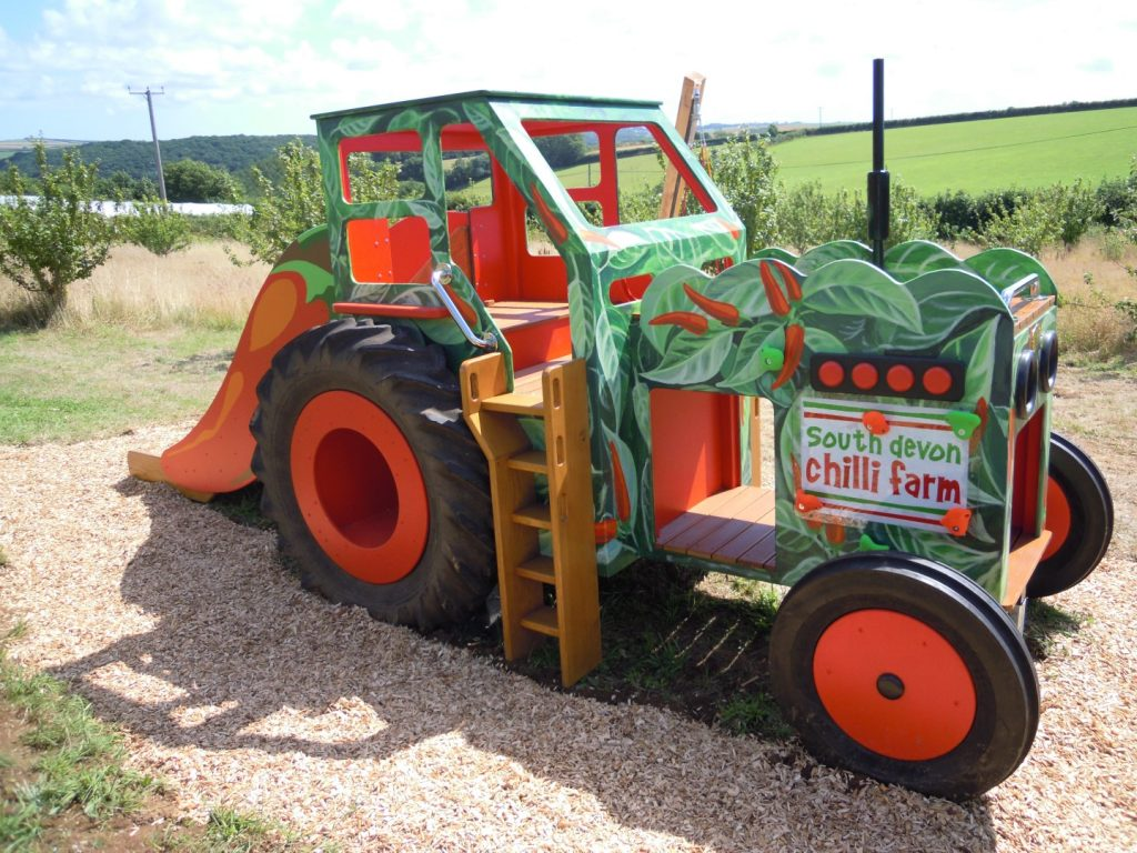 Right South Devon Chilli Farm Hand Made Play Tractor