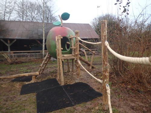 Rope Traverse Avoncroft Museum Apple Play Area Outdoor Playground
