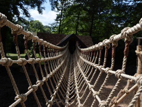 Rope Vee Bridge