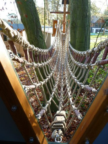 Rope Bridge Winchester Tower Private Play Area Playground By Flights Of Fantasy