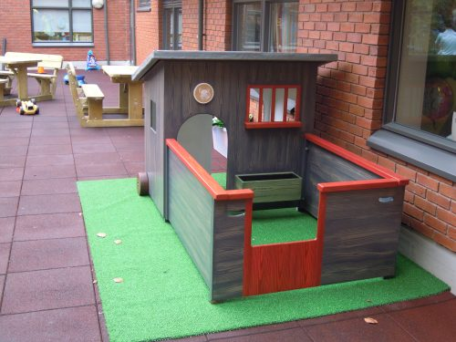 Run Gloucestershire Royal Hospital Rooftop Play Area