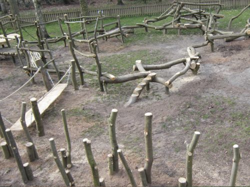 Sandringham Forest Rustic Woodland Play Area