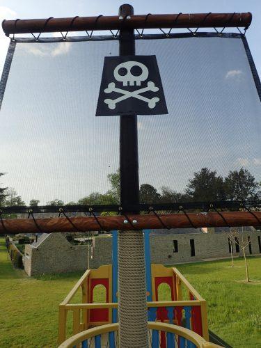 Sail Skull And Crossbones Ahoy Matey Play Pirate Ship