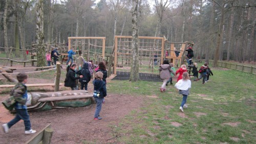 Sandringham Public Wooden Outdoor Childrens Play Area 05