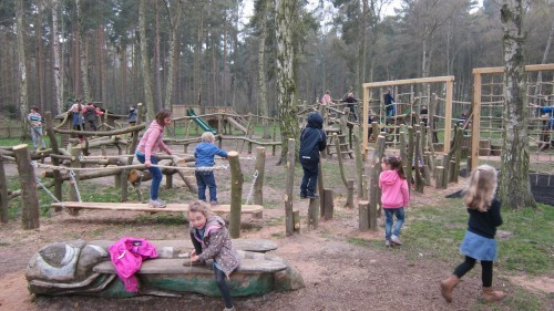 Sandringham Public Wooden Outdoor Childrens Play Area 06