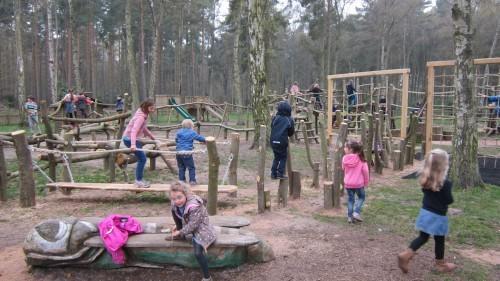 Sandringham Public Wooden Outdoor Childrens Play Area 06