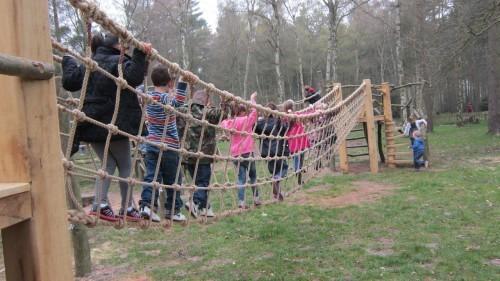 Sandringham Public Wooden Outdoor Childrens Play Area 09