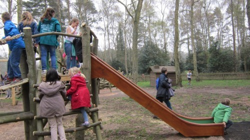 Sandringham Public Wooden Outdoor Childrens Play Area 12